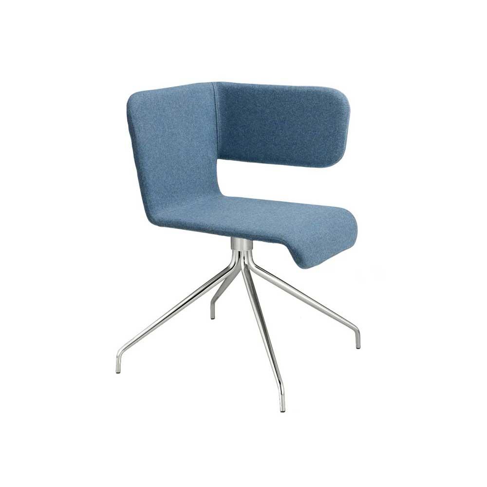 Twiss icon chair blu by Carlo Manara BBB