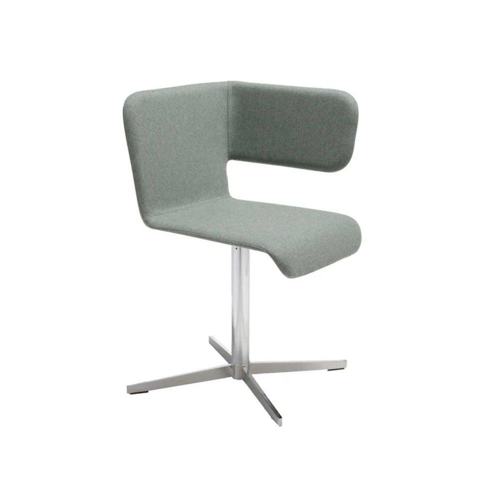 Twiss icon chair grey by Carlo Manara BBB
