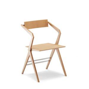 Fleche sedia di Enrico Davide Bona ed Elisa Nobile, progettata nel 2018